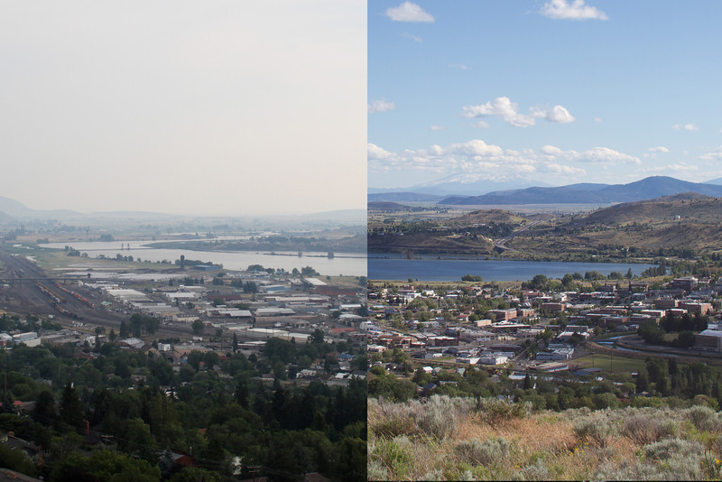 Air quality difference