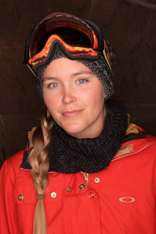 . Freestyle Skier Grete Eliassen poses for a portrait during the USOC Media Summit ahead of the Sochi 2014 Winter Olympics on October 1, 2013 in Park City, Utah.  (Photo by Doug Pensinger/Getty Images)