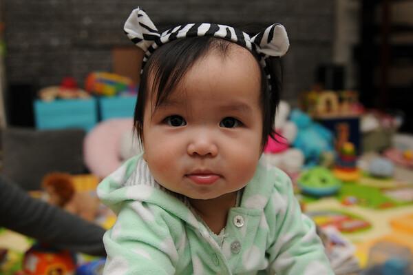 Olivia Violet Month 10