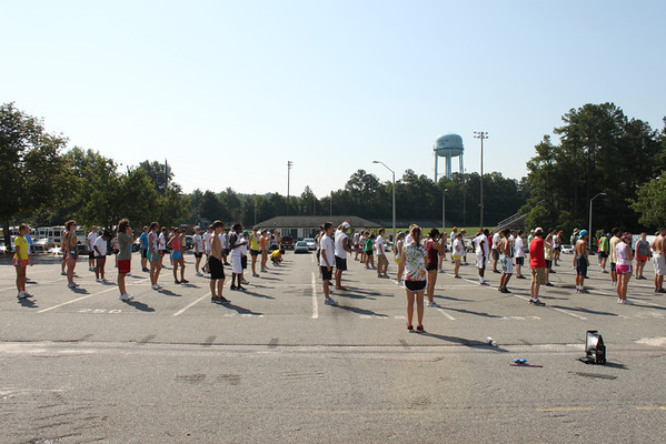 2011-08-02: Band camp day 2 -Basics and Trust Walk