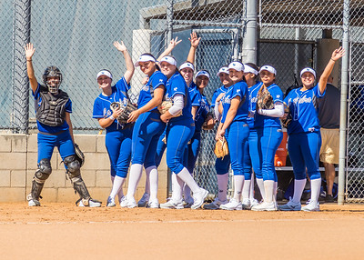 LHHS Varsity Vs Diamond Bar 2-24-18