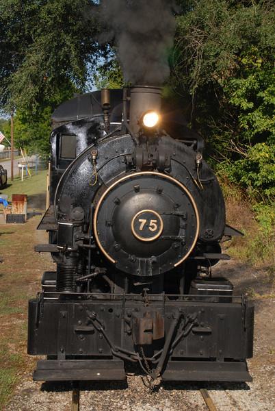 WVRR Steam Weekend 2008