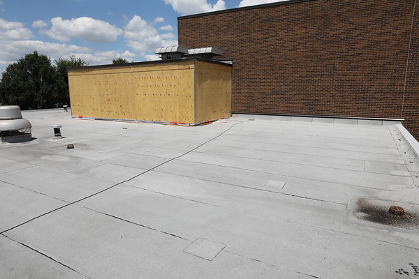 ZONE 21 - ROOF INDIAN MOUND REC CENTER RENOVATION SHOT BY ALLPRO USA 412-373-9100 AE HARDLINERS DESIGN CO CONTRACTOR-GUTNECHT CONSTRUCTION CO