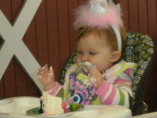 Ellie's 1st Birthday Sept 2010