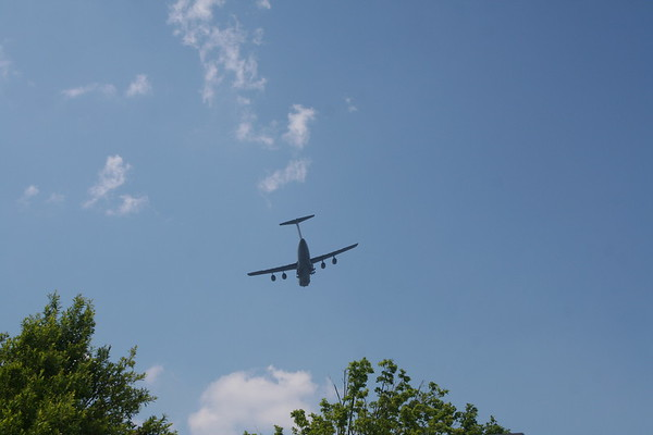 Day 8: Dobbins Air Base - 12 May 2007