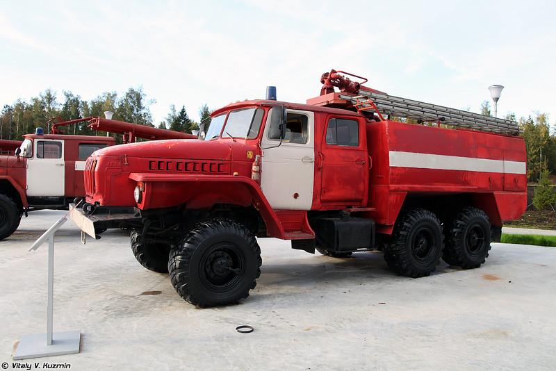 Автоцистерна пожарная АЦ-5,5 Урал-5557 (ATs-5,5 Ural-5557 firetruck)