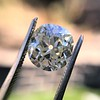 3.07ct Antique Cushion Cut Diamond GIA M VS2 12