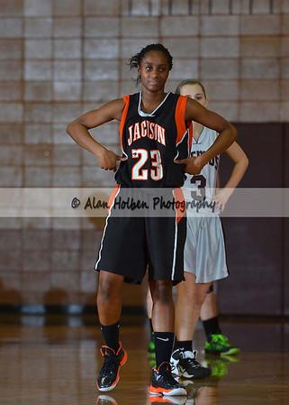 Girls Freshmen basketball Jackson at Okemos