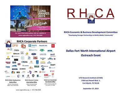 Economic & Business Development DFW International Airport Outreach Event