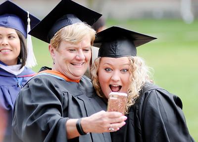 2017 Anderson University graduation