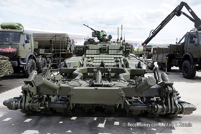 ARMY-2019 - Static displays part 4: Engineer, recovery, CBRN and support vehicles