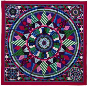 Rose de Compas - CS140 - Fuchsia Green Purple - NWCTS - 1611201929