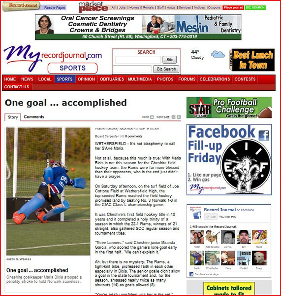 Record Journal 11-19-2011.JPG