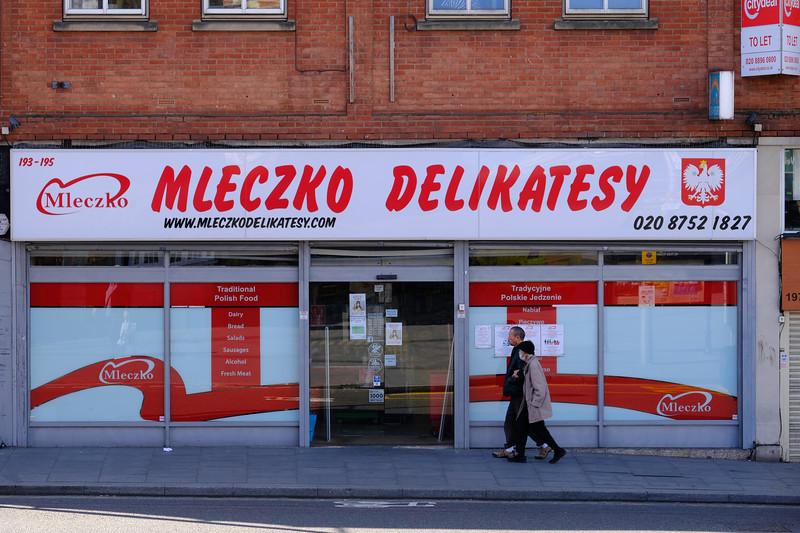 Mleczko Delikatesy, Acton, W3, London, United Kingdom