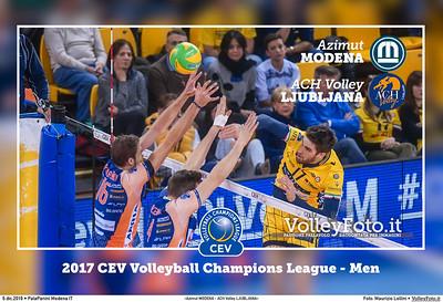 «Azimut Modena - ACH Volley Lubiana» #CLVolleyM