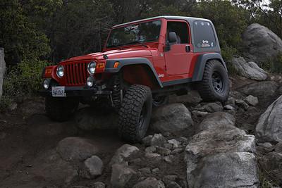 "AEV Highline Kit on Jeep Wrangler Rubicon with 3"" Teraflex lift on 37 inch tires"