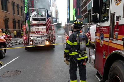 10.10.19 - Midtown Transformer Explosion