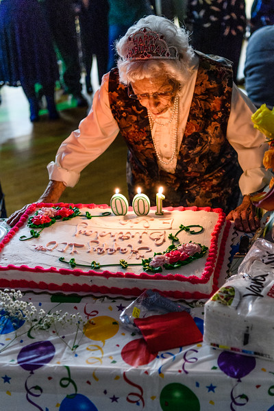 Aunt Elda's 100th Birthday