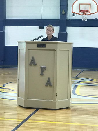 Student Council Speeches 2018
