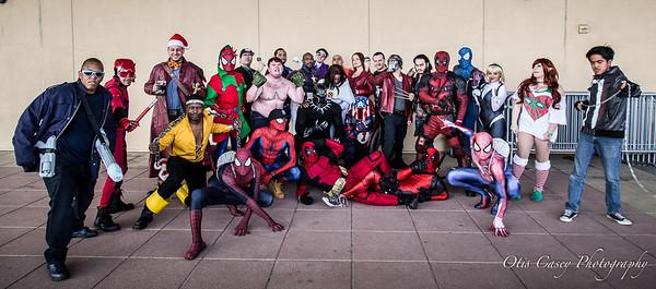 NY Winter Con 2016 Marvel Shoot