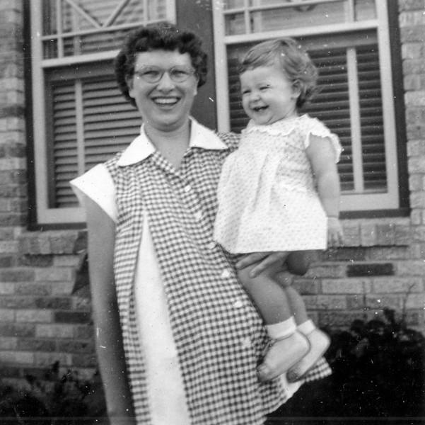 Janice Smock - 1 year old Aug 19, 1952