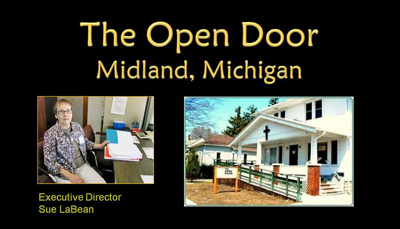 The Open Door, Executive Director, Sue LaBean, Midland, Michigan