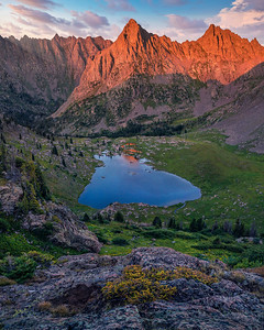 Backpacking in the Gore Range, Colorado