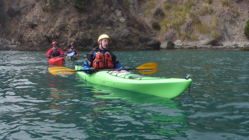 Rolling from Art of Sea Kayaking August 2018