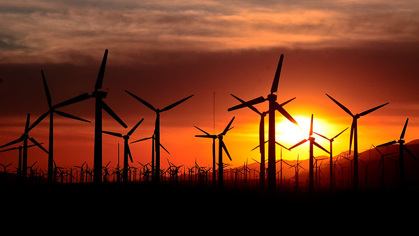 Wind Farm - Palm Springs