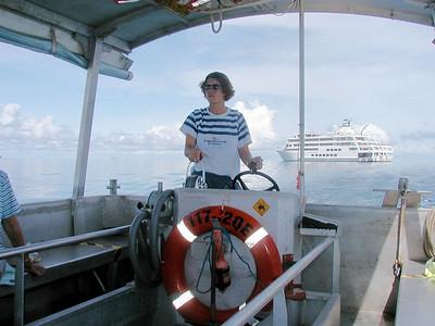 Ribbon Reef No. 5/Crew Talent Night/Return to Cairns