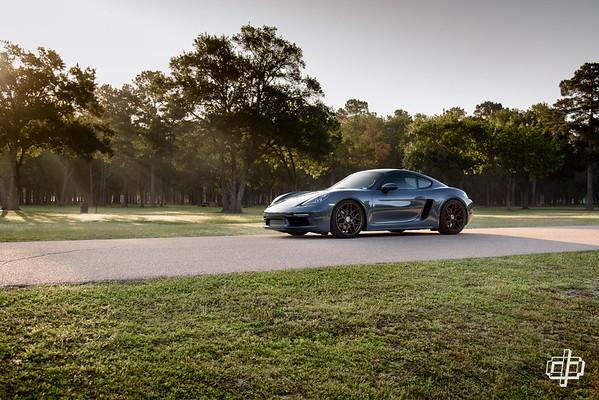 Porsche 718 for HRE Wheels