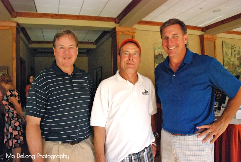 Joe Kendrick, Sid Hartnett and Mike Sullivan
