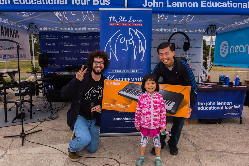 2017_09_30, audio technica, Brooklyn, Canon, Gabe Smith, giveaway winner, Juniper, NY, Securematics, Smorgasburg, Yamaha, nearpod,