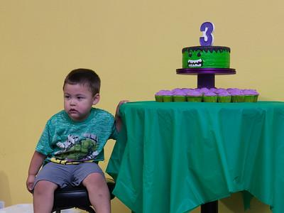 Jaden turns 3
