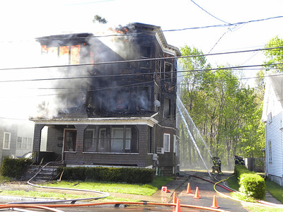 Enfield, CT General Alarm 42-44 Park Avenue 4/27/12