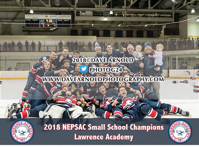 3/4/2018 - Boys Varsity Hockey - New Hampton vs Lawrence Academy