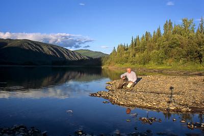 Along the Yukon River