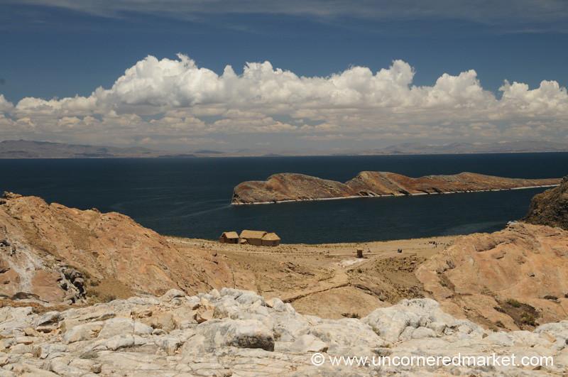 Blue Waters of Lake Titicaca - Isla del Sol, Bolivia