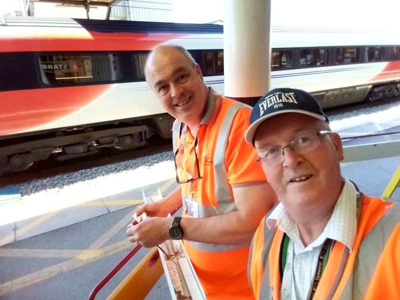 Paul & John repairs to Canopy Lighting emgs