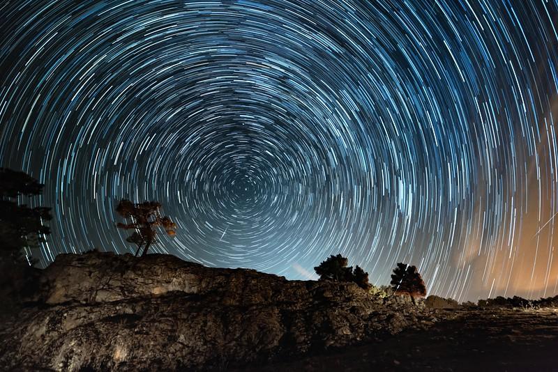Perseidas y Via Láctea