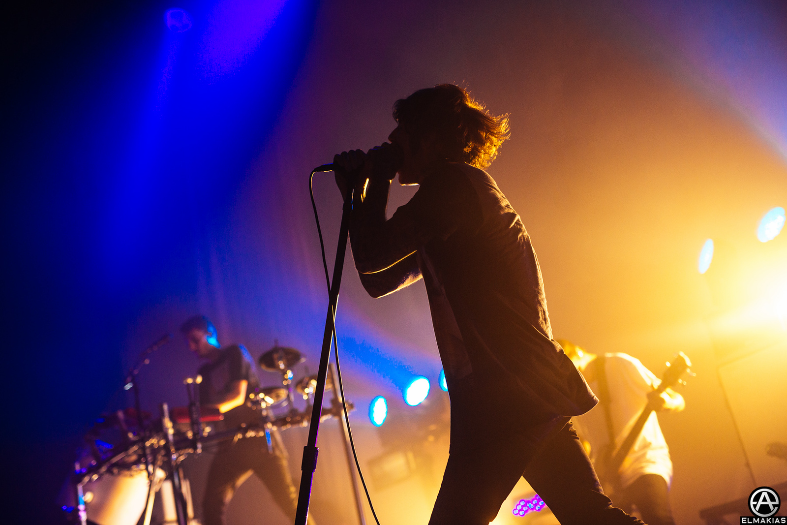 Oliver Sykes of Bring Me The Horizon -Parks and Devastation Tour by Adam Elmakias