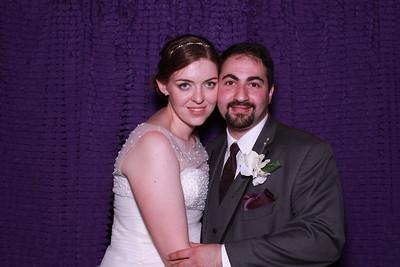 Clara and Brian Photo Booth Pics