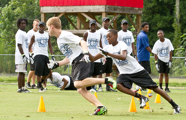 Calvin Johnson, Jr. Football Clinic