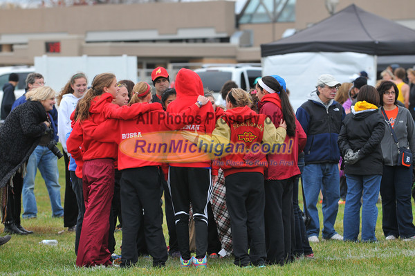 Start, Region 8-1 Girls - 2012 Regional 8-1 XC