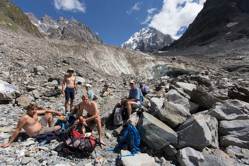 Becho, Ushba Glacier