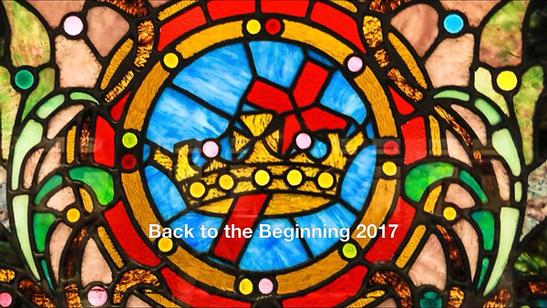 Back to the beginning 2017