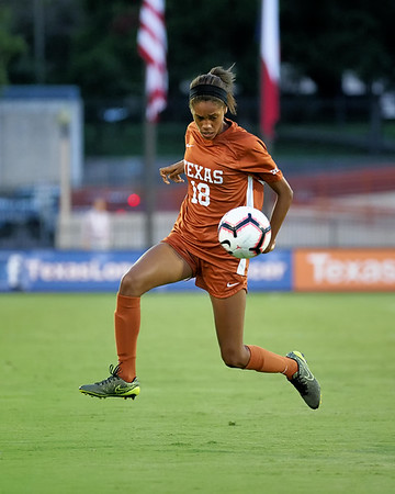 University of Texas Soccer vs. Texas State 9.7.2018