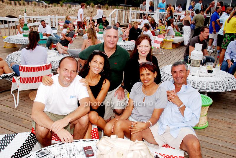 Todd Ciaravino, Regina Calcaterva,Jack Moran,Gerry Moran, Olga Cerela and John Roca photo by Rob Rich © 2008 516-676-3939 robwayne1@aol.com