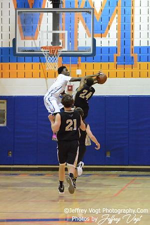 12-12-2014 Watkins Mill HS vs Poolesville HS Boys Varsity Basketball, Photos by Jeffrey Vogt Photography