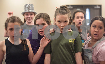 """5/15/18 Magill Musical Theatre Studio Rehearsal for """"Over Easy: The Musical"""" by Sarah A. Miller"""